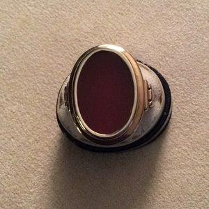 Huge Victorian 14k Carnelian Ring